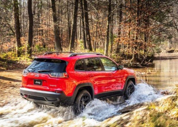 2020 Jeep Cherokee Trailhawk rear