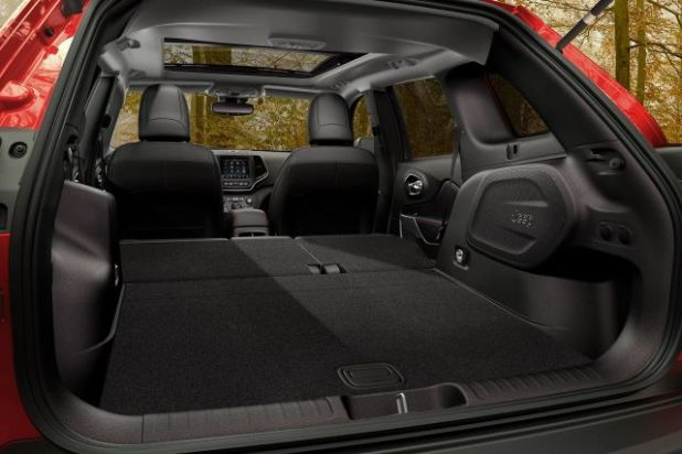 2021 Jeep Cherokee trunk