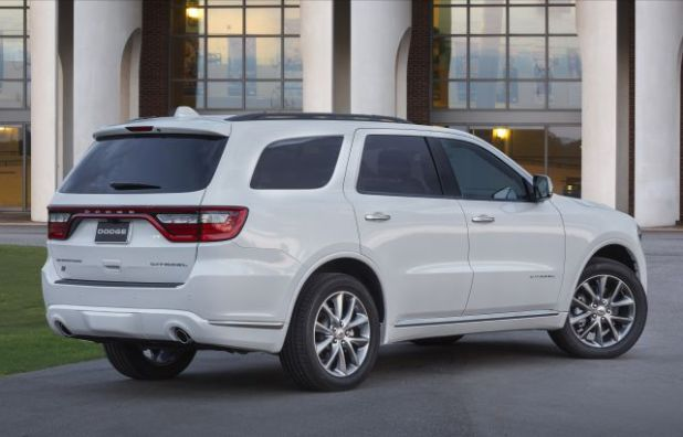 2020 Dodge Durango Citadel rear