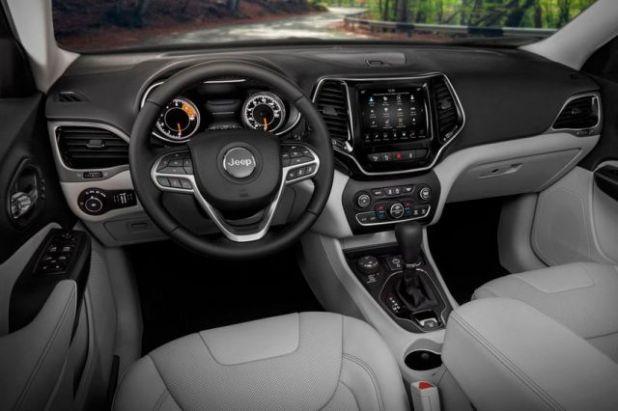 2020 Jeep Grand Cherokee Summit interior