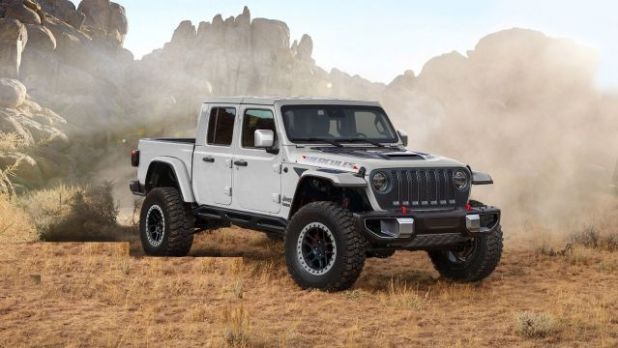 2021 Jeep Gladiator Hercules front
