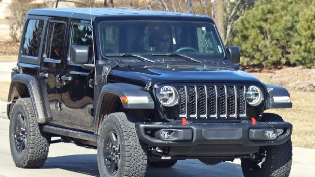 2021 Jeep Wrangler PHEV Spied