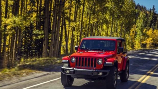 2021 Jeep Wrangler PHEV exterior