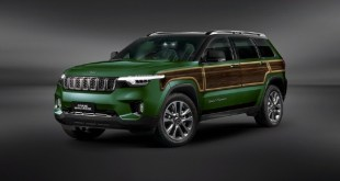 2022 Jeep Grand Wagoneer exterior