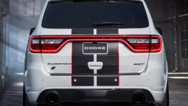 2021 Dodge Durango SRT Hellcat redesign