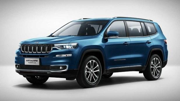 2021 Jeep Commander exterior