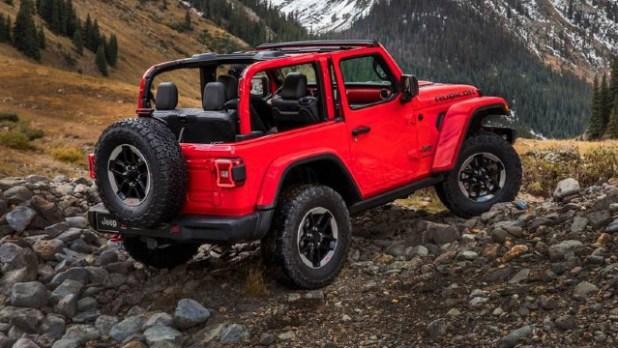 2022 Jeep Wrangler Rubicon EV redesign