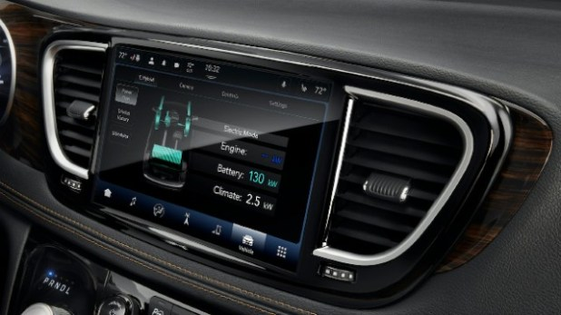 Uconnect 5 Infotainment System touchscreen
