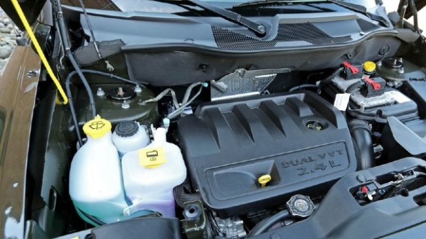 2021 Jeep Patriot engine