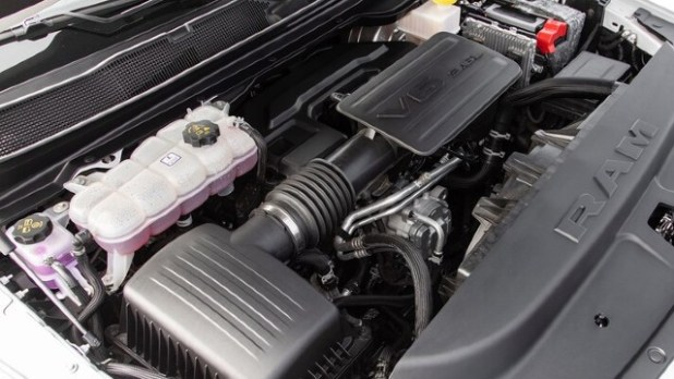 2021 Ram 1500 Laramie engine