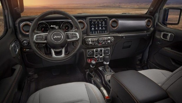 2021 Jeep Gladiator Diesel interior