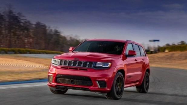 2021 Jeep Grand Cherokee Trackhawk facelift