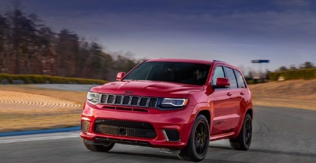 2021 jeep grand cherokee trackhawk: changes, top speed