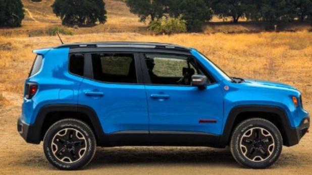2021 Jeep Renegade Trailhawk facelift