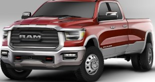 2022 Ram 3500 rendered