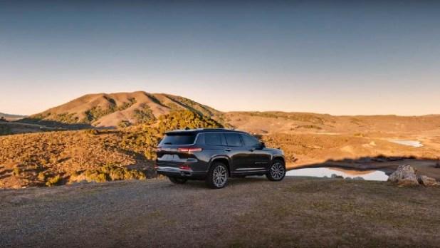2022 Jeep Grand Cherokee L Dimensions