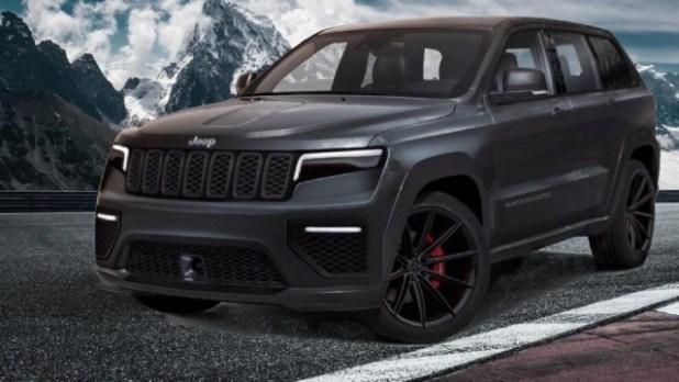 2022 Jeep Grand Cherokee Trackhawk rendered
