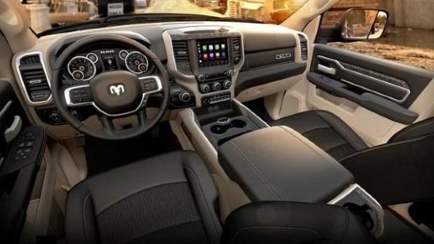 2022 Ram 4500 interior