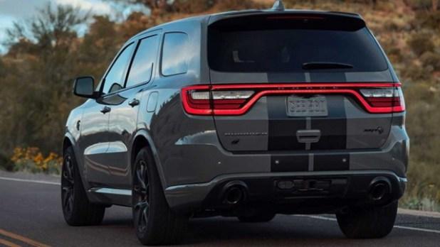 2023 Dodge Durango SRT rear