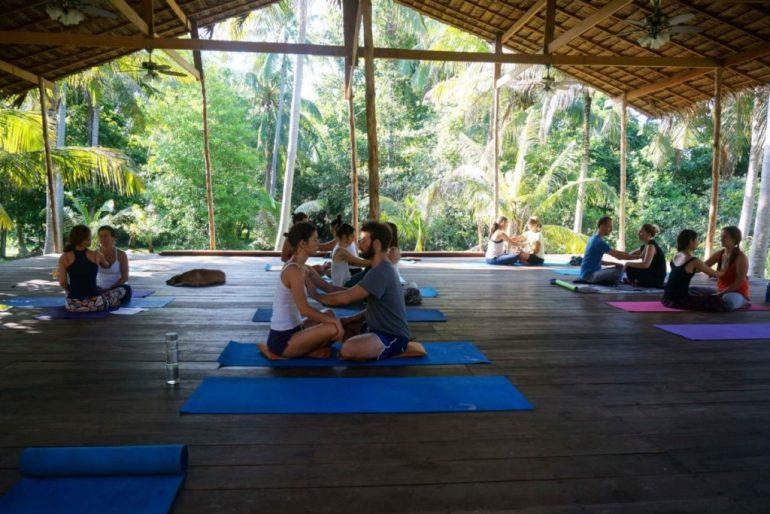 3 najlepsze kierunki podróży dla joginów - Tajlandia Koh Phangan