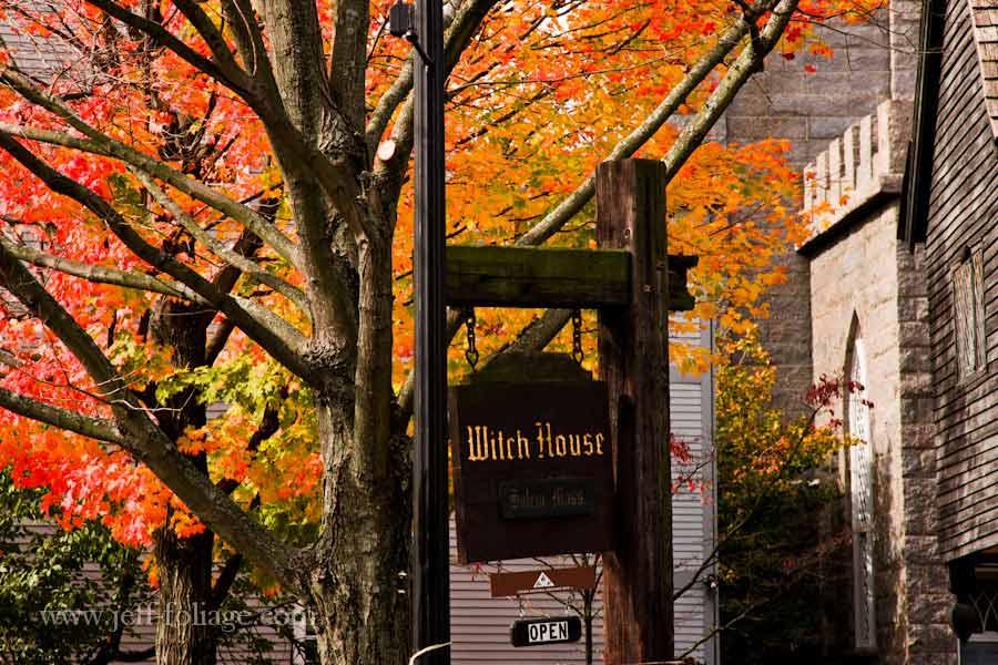 Salem, Halloween and fall foliage - New England fall foliage