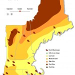 mid October rule of thumb for fall foliage in New England
