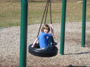 Tire swing!