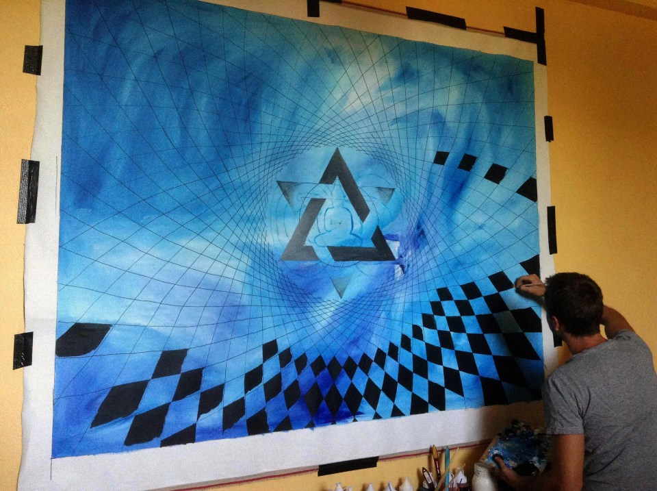 equilibrium live painting jeff angelo