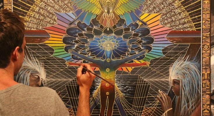 Jeff Angelo | French Visionary Artist – Spiritual Art