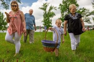 Houston Family Portrait Outdoors