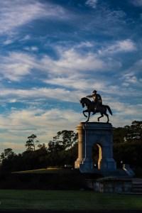 Houston Photographer – Sam Houston Statue