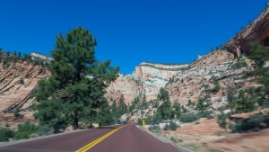 Houston Photographer – Driving Thru Zion