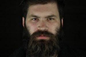 Houston Photographer – Black Background Portrait