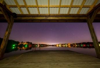 Boat House at Night