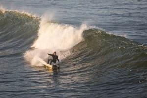 surfer in Huntington Beach, California