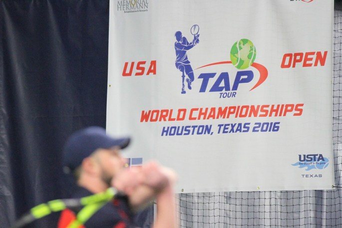 Inaugural 2016 USA TAP OPEN: A new form of competitive tennis for individuals with physical disabilities who want to play tennis standing instead of using a wheelchair.