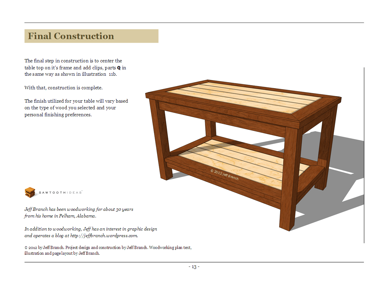Woodwork Simple Coffee Table Plans PDF Plans on Coffee Table Plans  id=87322