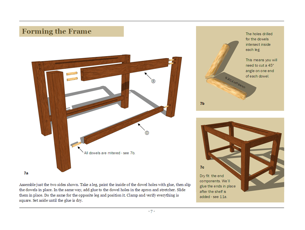 Woodwork Coffee Table Plans Online PDF Plans