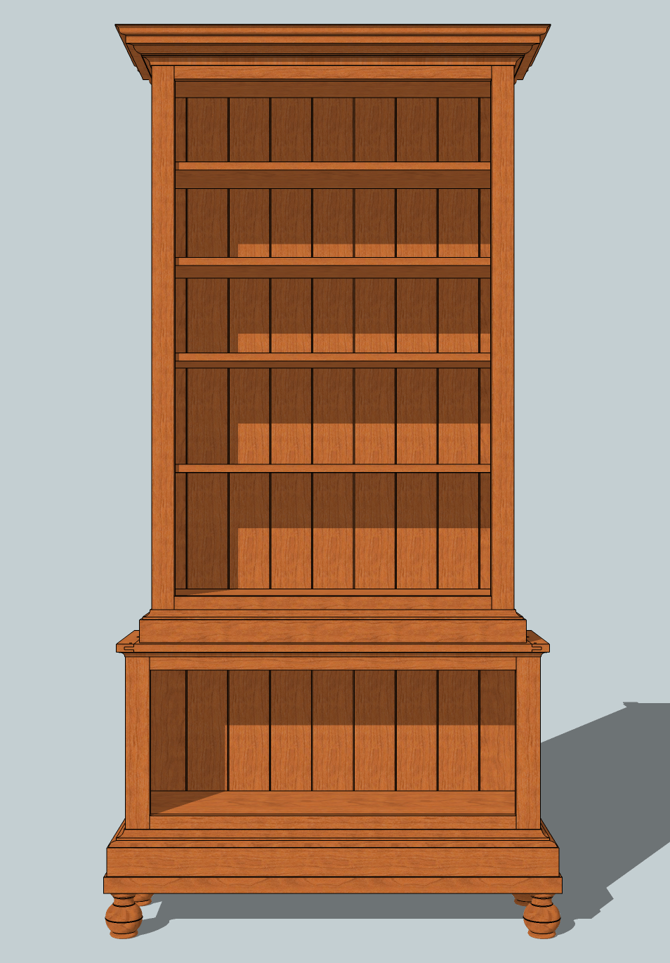 Woodwork Bookshelf Blueprint Plans Pdf Plans