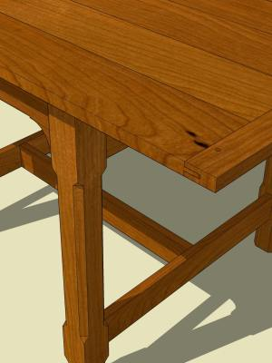 Apartment Dining Table3