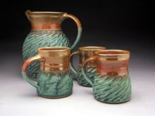 brown-jeff-pitcher-and-mugs