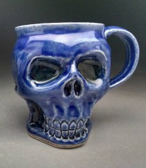 All Blue with darker shading under the glaze.