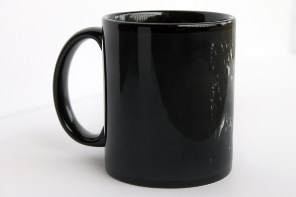black and white Bob Marley coffee mug by Jeffcoat Art