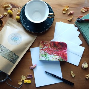 Write Sip Relax Gift Set #3: HOLIDAY COMFORT by Jeffcoat Art