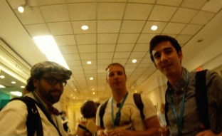 Aaron, Russell and Kevin. WP DC-ers in da house!