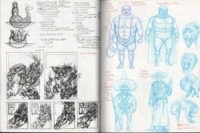 sketchbook by Jeff Crosby