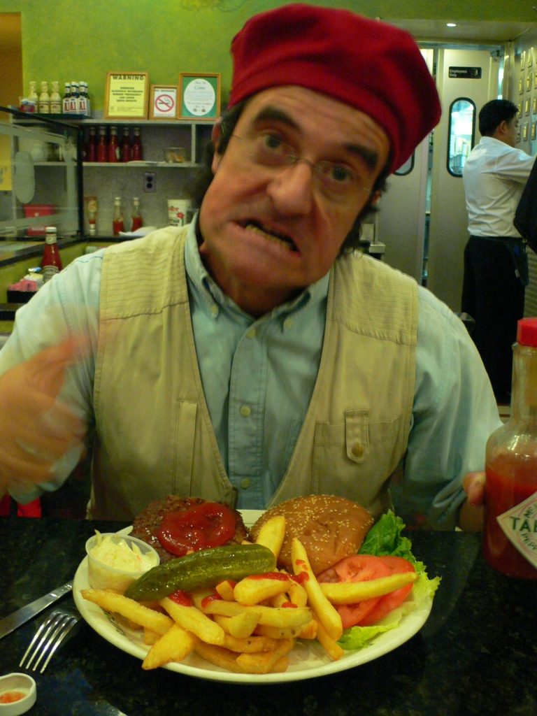 MY NAME IS JEFF HAMBURGER COMING FROM FRANCE