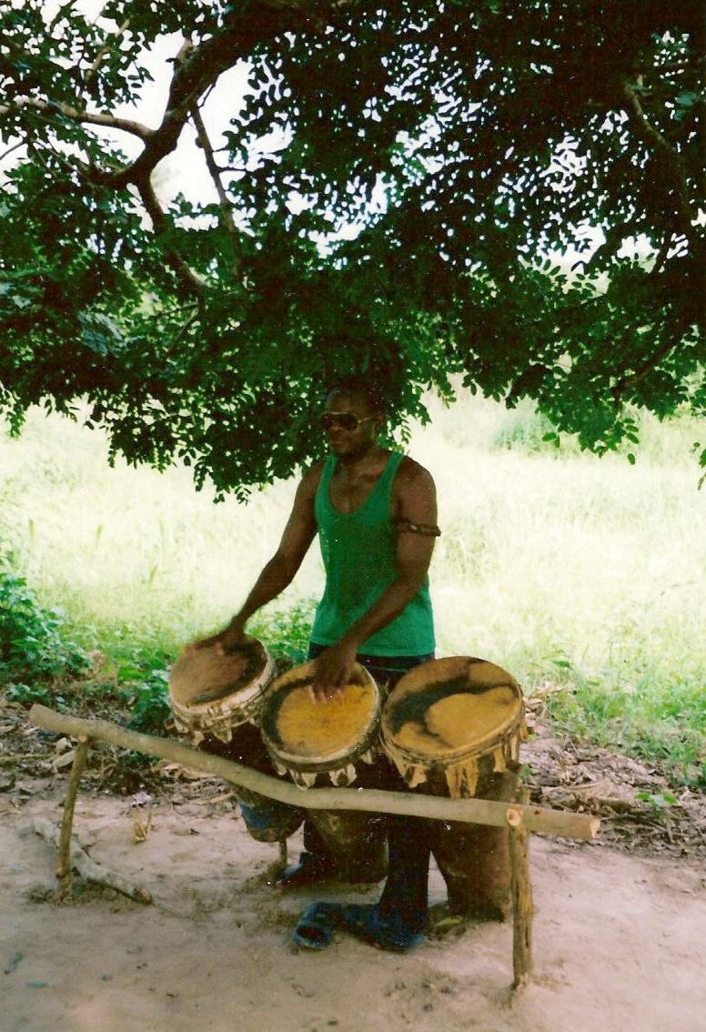 Mon maître de bougarabou Casamance 2006