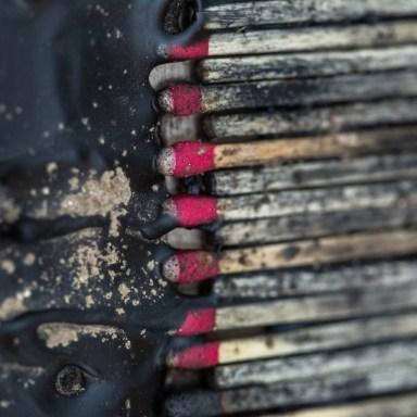 Match Spine #1 - Detail