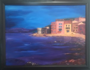 St Tropez 30x40 Mixed Media